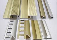 Алюминиевый профиль для керамической плитки