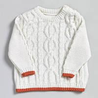 Детский вязаный свитер из органического хлопка, Natures Knits
