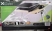 Компьютерный столик X Geer с кулером (стол для ноутбука Иск Гир), фото 1