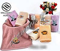 Кухонное полотенце махра Чашечка кофе (5)