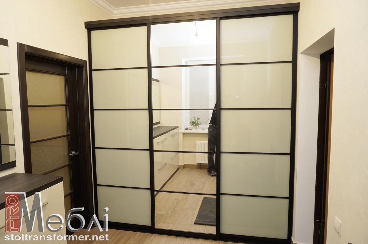 Изготовление шкафов-купе на заказ в Сумах - Мебель Оптима в Сумах