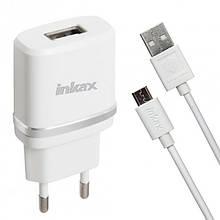 Сетевой зарядноое устройство Inkax CD-44 iphone