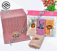 Набор махровых кухонных полотенц Чашка