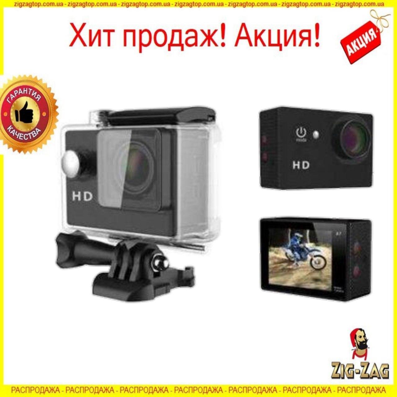 Екшн Камера А7 Спорт Action Camera Full HD 1080p sports Екшен Відео GoPro 900 mAh на Шолом під Водою для Вело