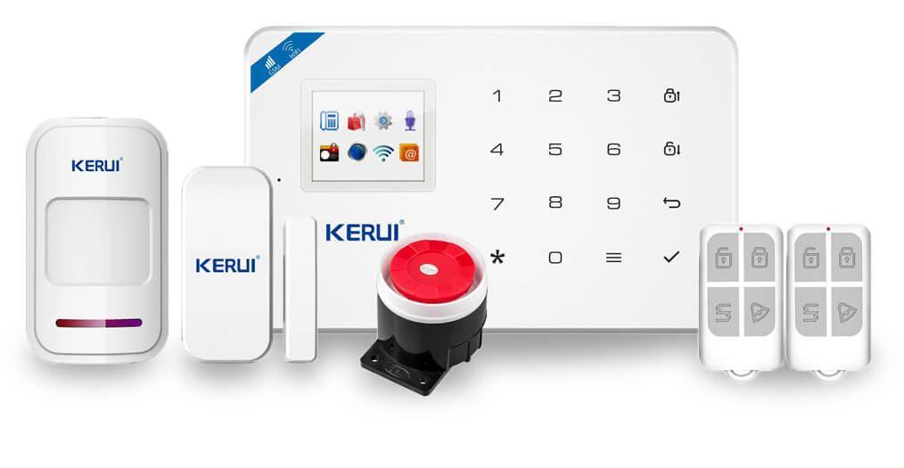 Комплект сигналізації Kerui alarm W18 Start
