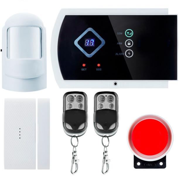 GSM сигнализация охранная Kerui alarm G10a Start, для квартиры, для дачи, для дома, для гаража, малое