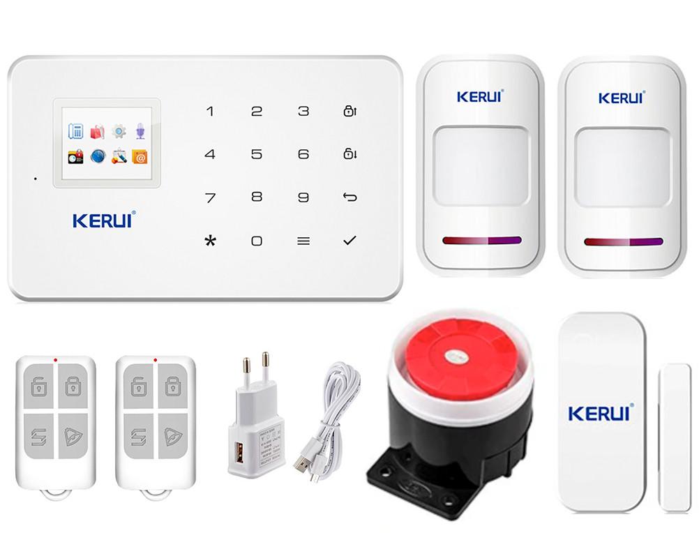 Комплект сигналізації Kerui G18 для 1-кімнатної квартири