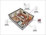 Комплект сигналізації Kerui Wi-Fi W18 для 1-кімнатної квартири, фото 2