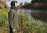 Костюм для риболовлі та полювання «Mavens SoftShell (Original)» олива меланж, розмір 58 (031-0014), фото 3