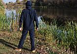 Костюм для рыбалки и охоты «Mavens SoftShell (Original)» синий меланж, размер 56 (031-0015), фото 2