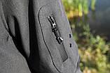 Костюм для риболовлі та полювання «Mavens SoftShell (Original)» сірий меланж, розмір 54 (031-0016), фото 3