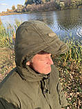 """Зимовий костюм до -40° """"Mavens Тайга"""" Олива, для риболовлі, полювання, роботи в холоді, розмір 48-50 (031-0027), фото 2"""