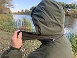 """Зимний костюм до -40° """"Mavens Тайга"""" Олива, для рыбалки, охоты, работы в холоде, размер 64-66 (031-0027), фото 3"""