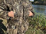 """Зимовий костюм до -40° """"Mavens Зубр"""" Очерет дикий, для риболовлі, полювання, роботи в холоді, розмір 60-62 (031-0022), фото 2"""