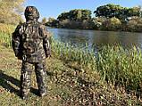 """Зимний костюм до -40° """"Mavens Зубр"""" Лес, для рыбалки, охоты, работы в холоде, размер 64-66 (031-0024), фото 2"""