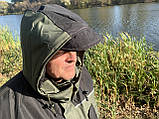 "Зимний костюм до -40° ""Mavens Аляска"" Олива, для рыбалки, охоты, работы в холоде, размер 52-54 (031-0030), фото 2"
