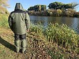 "Зимний костюм до -40° ""Mavens Аляска"" Олива, для рыбалки, охоты, работы в холоде, размер 52-54 (031-0030), фото 3"