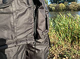 """Зимовий костюм до -40° """"Mavens Сибір"""" Чорний, для риболовлі, полювання, роботи в холоді, розмір 48-50 (031-0031), фото 3"""