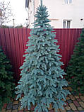 """Елка """"Премиум"""" искусственная литая голубая, пышная густая, 210 см, с подставкой, в коробке 031-0045, фото 2"""