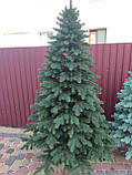 """Елка """"Элитная"""" искусственная литая зеленая, пышная густая, 250 см, с подставкой, в коробке 031-0052, фото 2"""
