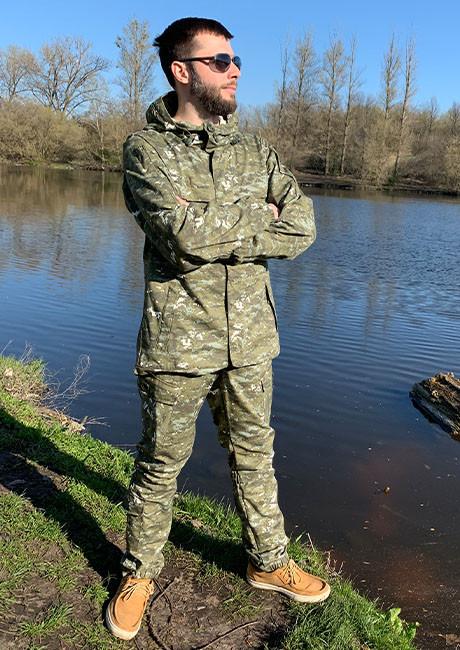 """Костюм для риболовлі та полювання Mavens """"Гірка Піксель"""", розмір 48"""