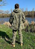 """Костюм для риболовлі та полювання Mavens """"Гірка Піксель"""", розмір 48, фото 3"""