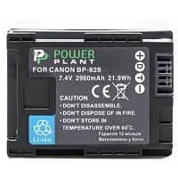 Аккумулятор Canon BP-828 Chip PowerPlant (DV00DV1372)