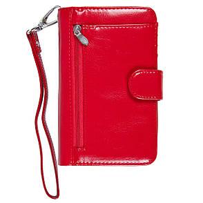 Барсетка-гаманець KOCHI 95х148х35 застібка кнопка коричнева  м 06-9004-3кор, фото 2