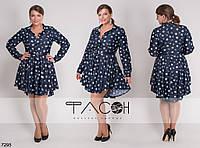 Красивое, коктельное  платье ! 48-50 р