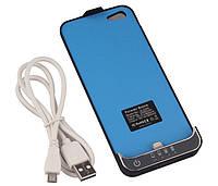 Чехол-аккумулятор для iPhone 5/5S, (батарея чехол на 2200 mAh), фото 1