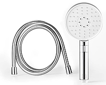 Лейка и шланг для душа Xiaomi DiiiB Big 3 White Shower Hose Set (DXHS001T+DXRG001) Silver