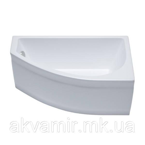 Ванна Тритон Белла 140х75х60 см акрилова асиметрична ліва/права з каркасом та панеллю