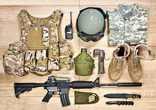 Снаряжения . Военное и туристические