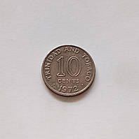 10 центів Тринідад і Тобаго 1972 р.., фото 1