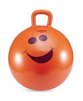 Детский фитбол с ручкой LiveUp Hopping Ball (LS3220) Orange