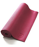 Коврик для йоги LiveUp PVC Yoga Mat (LS3231-04v) Pink 173x61x0,4 см