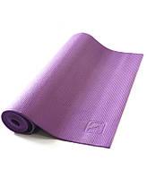 Коврик для йоги LiveUp PVC Yoga Mat (LS3231-04p) Purple 173x61x0,4 см, фото 1