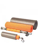 Ролик для йоги 3 в 1 LiveUp Yoga Roller Set (LS3765) Orange 45x16,5 см