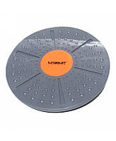 Баланс-борд LiveUp Balance Board (LS3151A) Gray/Orange 39x8-10 см