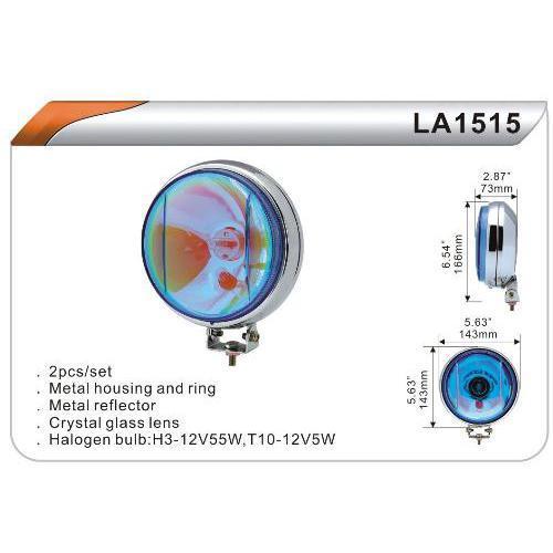 Фара протітуманна універсальна комплект 2 шт (LA 1515 W) H3 + T10-12V-55W / D = 143mm DLAA