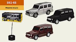Машина батар. р|у 592-65 (72шт|2) 3 кольори, в кор. 29,5*12*12 см, р-р іграшки– 23*8*9 см