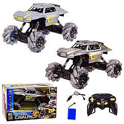 Машина акум. р|у YL-35 (18шт|2) 2 кольори), функція бічній їзди,світло, р-р іграшки– 27.5*17.5*16 см,