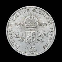 1 Крона 1908 60 Лет Правления,  Австро-Венгрия