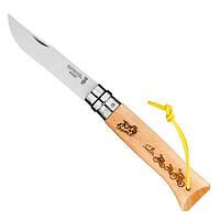 Нож Opinel №8 VRI Tour de France 2020 Engraved, фото 1