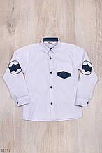Рубашка для мальчика школа рост 134-158 (9-13 лет) Турция