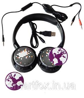 Наушники со встр. MP3 плеером AT-7603, фото 2