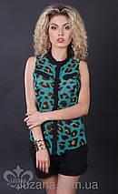 Леопардовая блузка   Колибри lzn, фото 3
