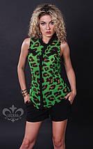 Леопардовая блузка   Колибри lzn, фото 2