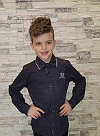 Нарядная рубашка для мальчиков 128,152 роста
