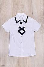 Блузка для девочки школа рост 140-164 (10-14 лет)